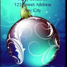 Royal Blue Holiday Party Ticket