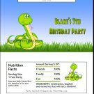Rattlesnake Candy Bar Wrapper