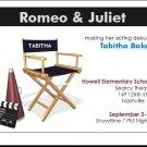 Performer's Showcase Announcement Director's Chair