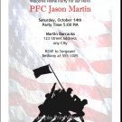 Raising Our Flag Party Invitation