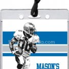 Lions Colored Football All-Star Pass Invitation