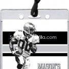 Raiders Colored Football All-Star Pass Invitation