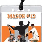 Baltimore Orioles Colored All-Star Pass Invitation