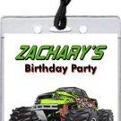 Monster Truck Rally Pass Invitation