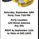 Pimp Daddy Birthday Party Ticket Invitation