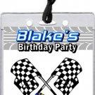 Go Cart Raceway VIP Pass Party Invitations