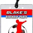 Soccer VIP Pass Invitations