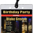 Hollywood Style VIP Pass Invitations