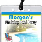 Pool Party VIP Pass Invitations