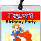 Supergirl VIP Pass Invitations