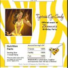 African Tigress Candy Bar Wrapper