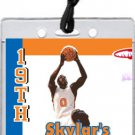 New York Knicks Colored Basketball VIP Pass Invitations