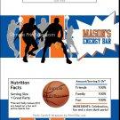 Blue Orange Basketball Team Candy Bar Wrappers