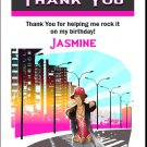 Fly Girl Birthday Thank You Cards