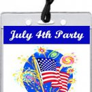 American Flag 4th of July VIP Pass Invitation