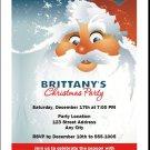 Santa Christmas Party Invitation