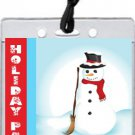 Frosty Holiday Party VIP Pass Invitations