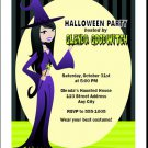 The Good Witch Halloween Invitation