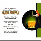 Witch's Brew Halloween Invitation
