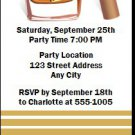 The Manhattan Party Birthday Ticket Invitation
