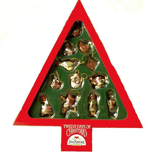 Jim Shore Twelve Days Of Christmas Ornaments