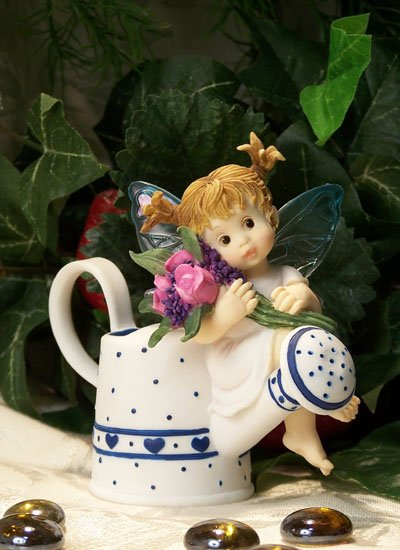 Kitchen Fairy with Watering Can