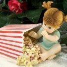 Kitchen Fairy Eating Popcorn