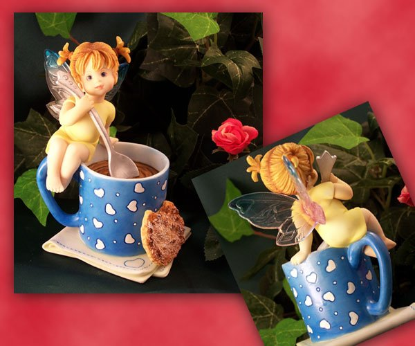 Kitchen Fairy Coffee and Cookies