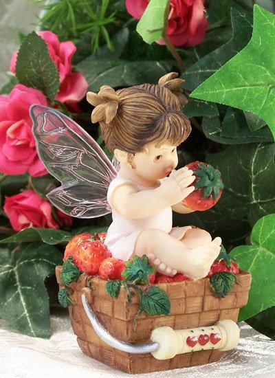 Kitchen Fairy With Strawberry