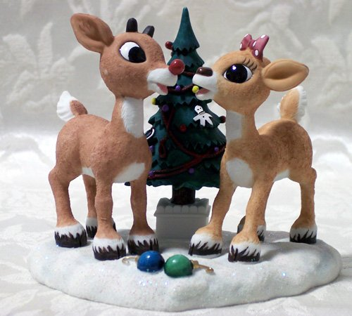 Rudolph Red Nose Reindeer and Clarice