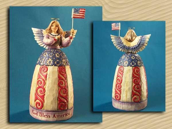 Jim Shore Patriotic Angel