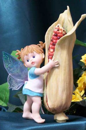 Kitchen Fairy Indian Corn