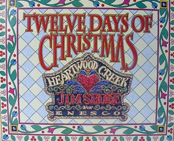 Jim Shore 12 Days Of Christmas Ornaments