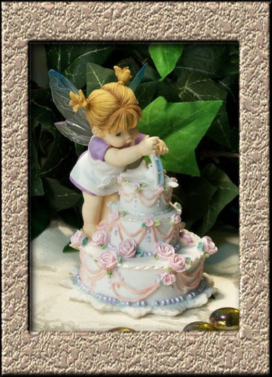 Kitchen Fairy Wedding Cake Fairy