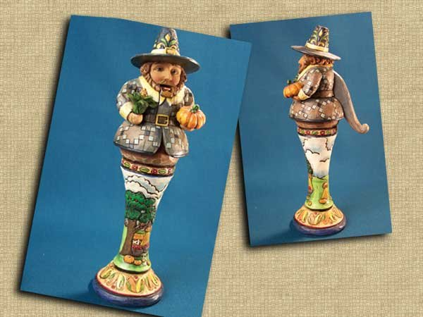 Jim Shore Pilgrim Nutcracker
