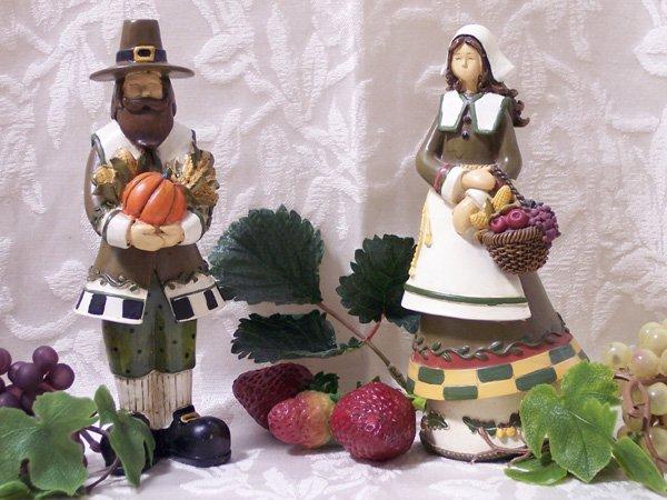 Harvest Collection Pilgrim Couple
