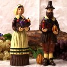 Pilgrim Man & Woman Figures