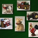 Farm Christmas Ornaments