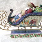 Jim Shore Santa on Sleigh