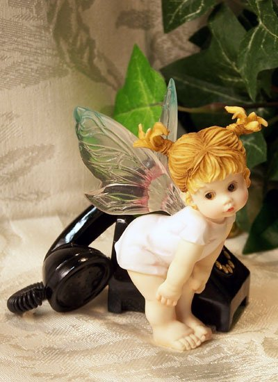Kitchen Fairy w/ Telephone Sweet Nothing
