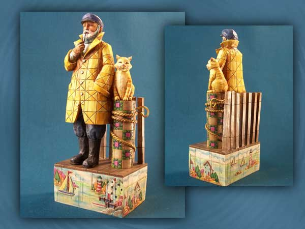 Jim Shore Old Salt Figurine