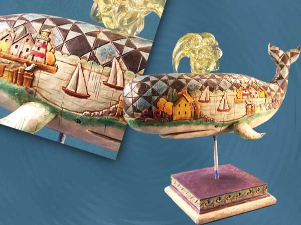 Jim Shore Whale Figurine