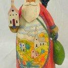 Jim Shore Santa with Church