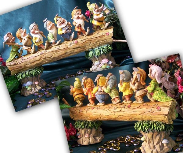 Jim Shore Snow White's Seven Dwarfs