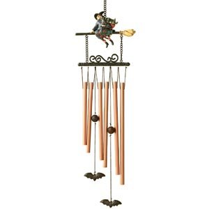 Jim Shore Witch Wind Chime