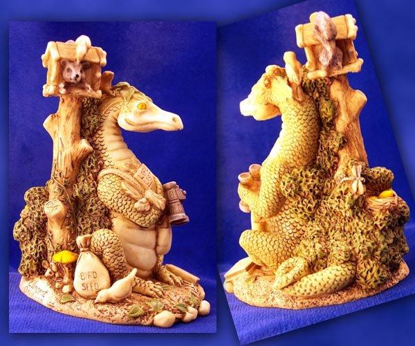 E. Vincent Bird Watcher Dragon