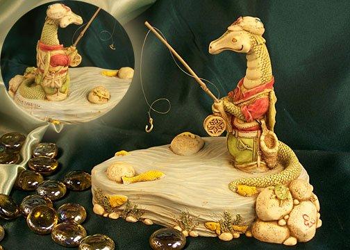 E. Vincent Fishing Dragon