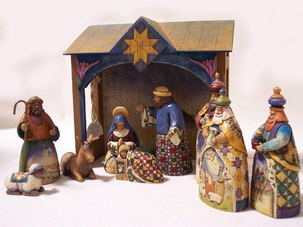 Jim Shore 10 Piece Nativity Set