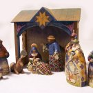 Jim Shore 10 Piece Nativity Set