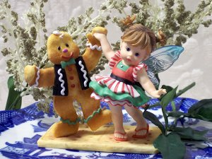 Kitchen Fairy with Ginger Bread Man